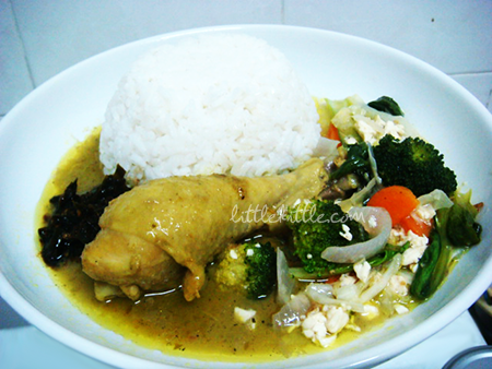 chickengreencurryittlekittle